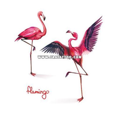 """Тату-стикер """"Flamingo"""""""