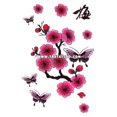 "Тату-стикер ""Sakura"""