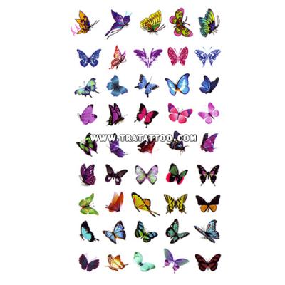 "Тату-стикер ""Бабочки"""
