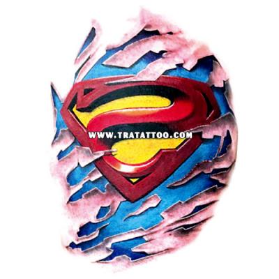 "Тату-стикер ""Superman"""