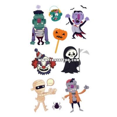 """Тату-стикер """"Happy Halloween!"""""""