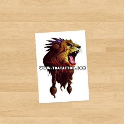 """Тату-стикер """"Lion"""""""
