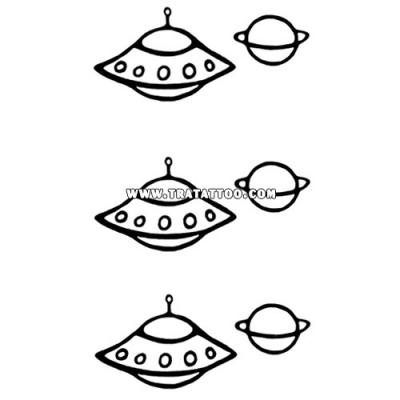 "Тату-стикер ""UFO"""
